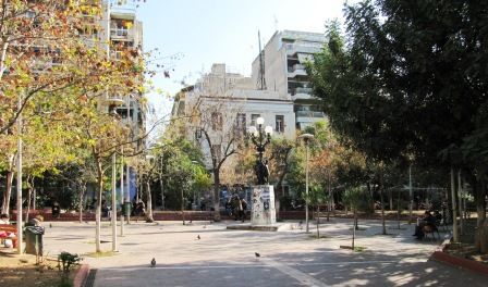 Exarchia main square1