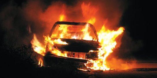 Yunanistan: Kara Temmuz için Kolonaki'de Araçlar Yakıldı