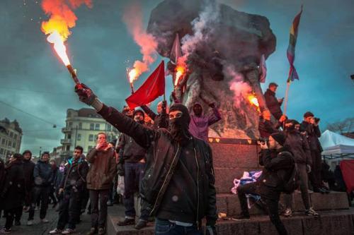 İsveç'te Yükselen Neo-Nazi Çeteler ve Anti-Faşist Mücadele