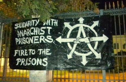 Solidarity with anarchist prisoners - Fire to the prisons