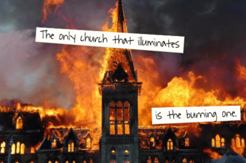 church-burn