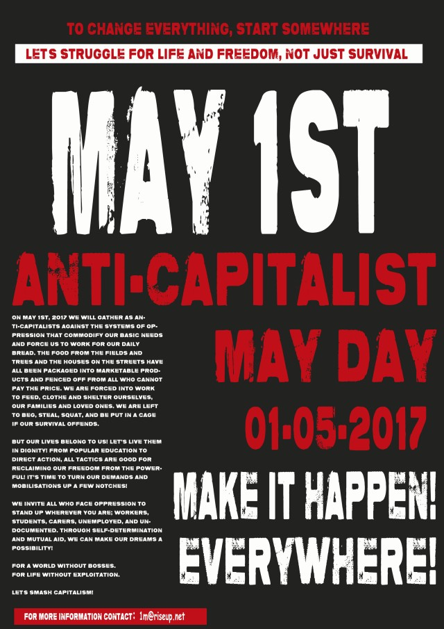 May Day 1M Poster